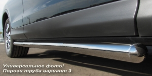 Lexus LX 470 пороги труба  d42 (вариант 3)  LXT-0005553